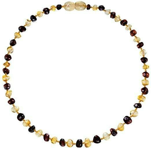 Honey/Cherry Amber Necklace