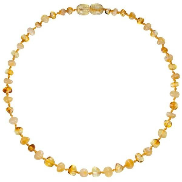 Milk/Honey Amber Necklace