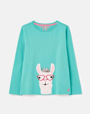 Ava Llama Shirt