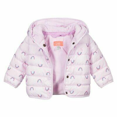 Jessie Rainbow Puffy Jacket