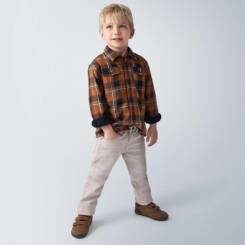 Slim Fit Grey Pants 4533