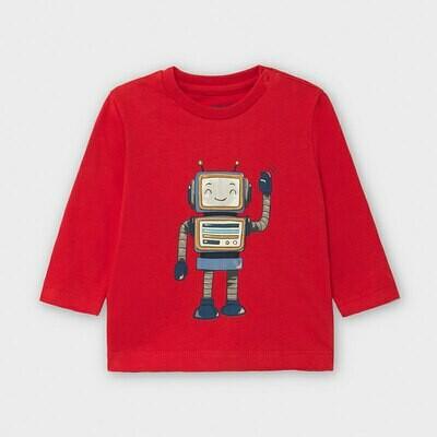 Red Robot LS Shirt 2040