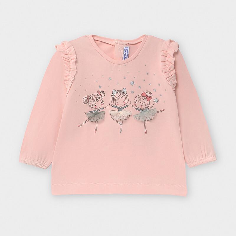 Pink Ballerina Shirt 2056