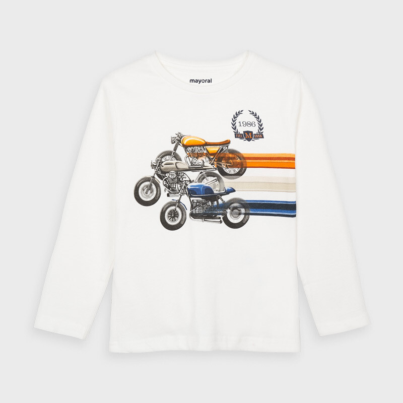 Motorbike Race Shirt 4038