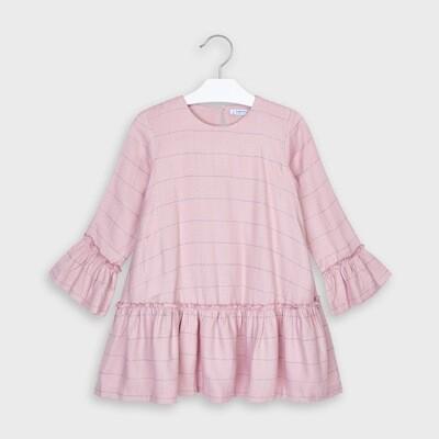 Plaid Ruffled Dress 4973