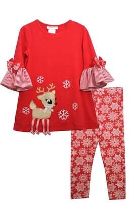 Reindeer Leggings Set