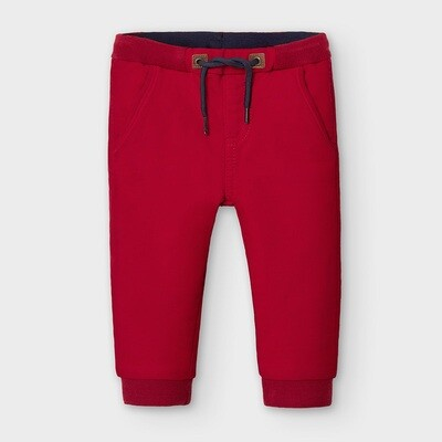 Red Jogger Pants 2579