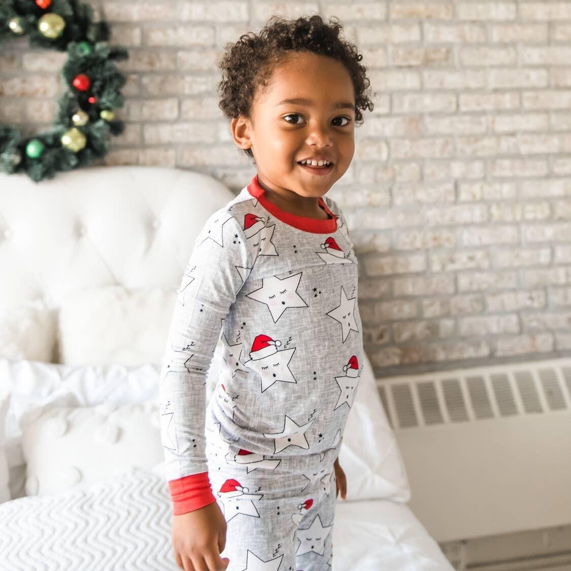 Santa Stars PJ Set