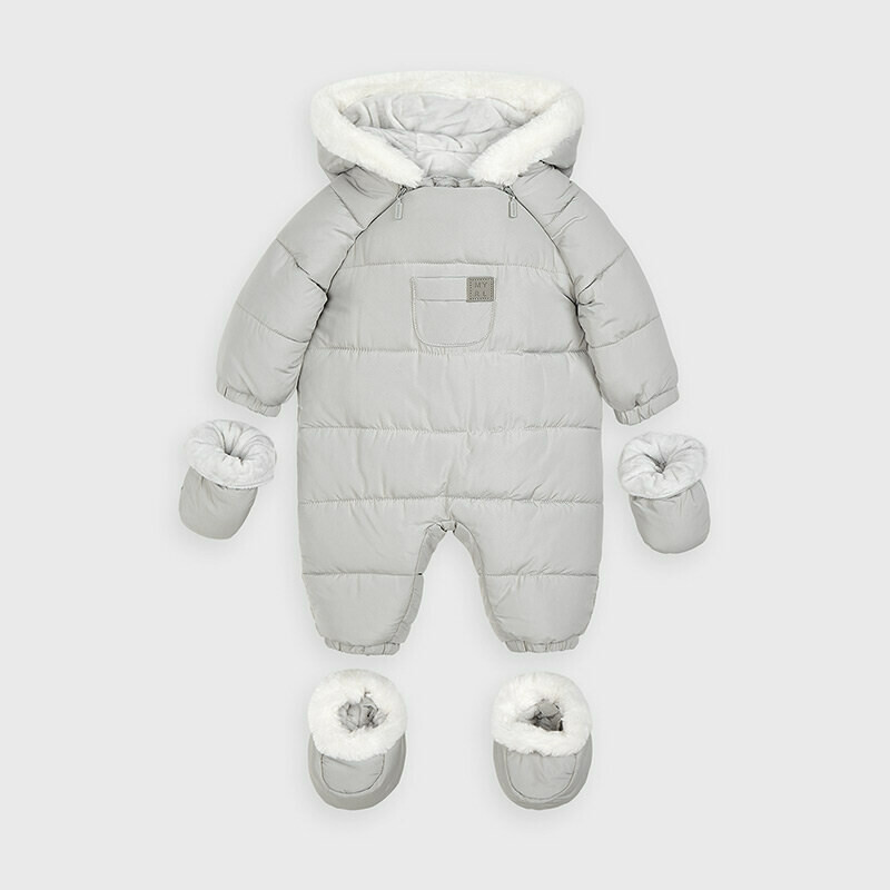 Grey Snowsuit 2627
