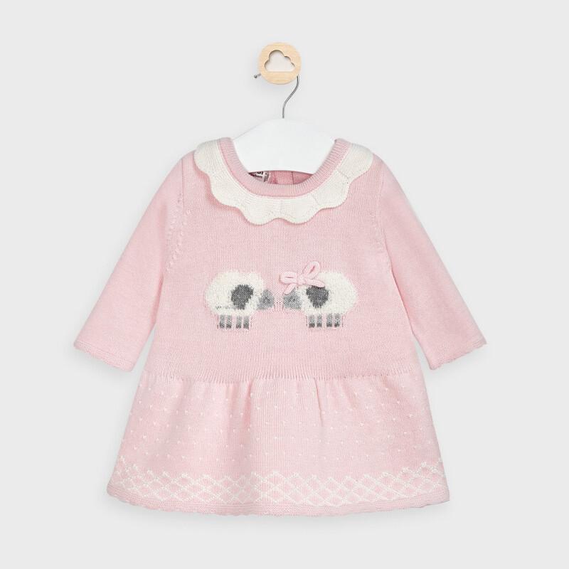 Pink Knit Dress 2855