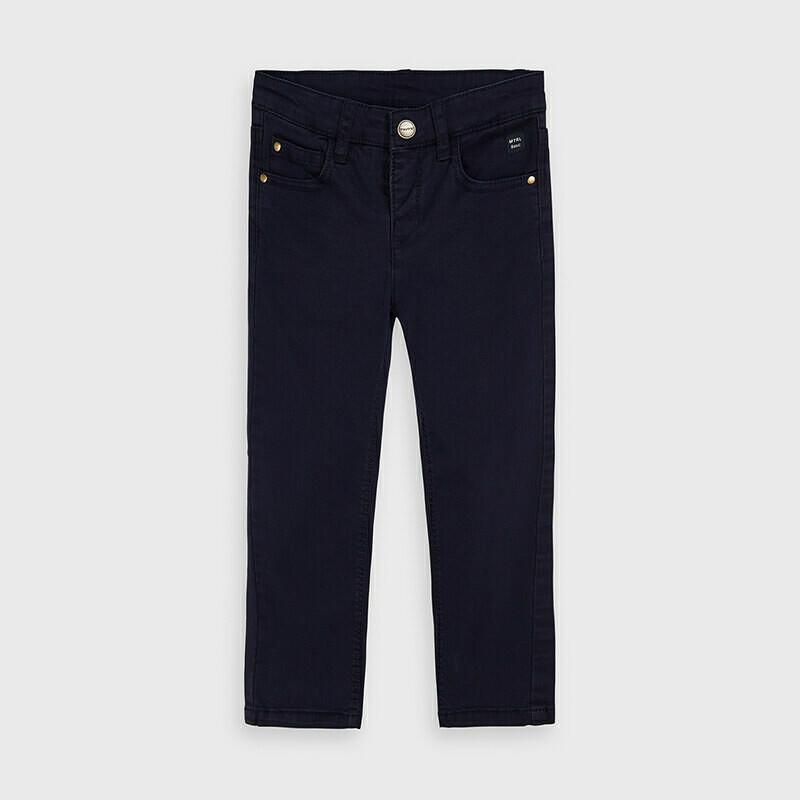 Navy Twill Pants 41