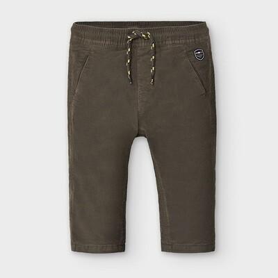 Dark Brown Corduroy Pants 2576