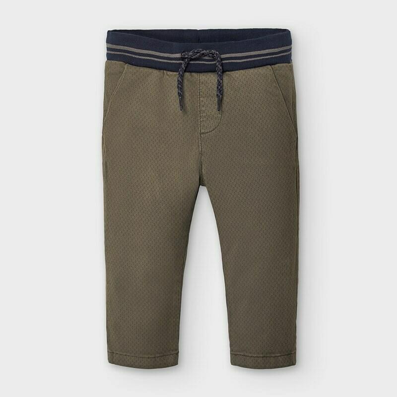 Brown Drawstring Pants 2580