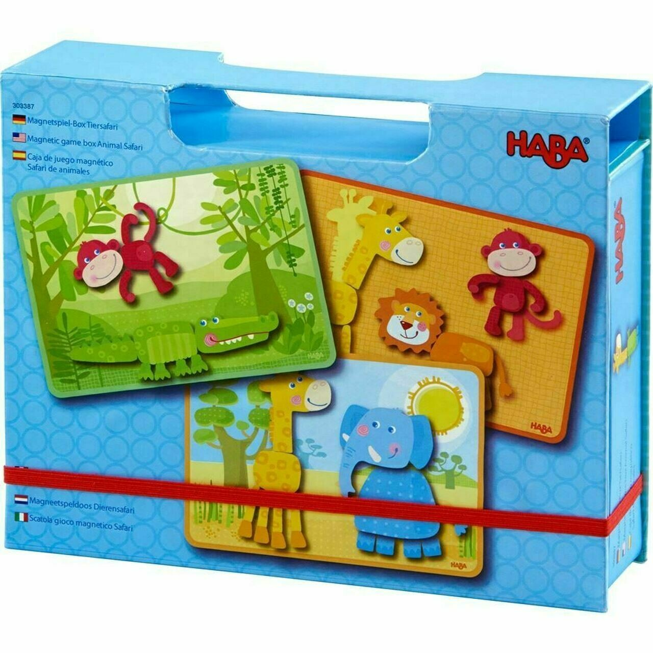 Animal Safari Magnetic Game Box
