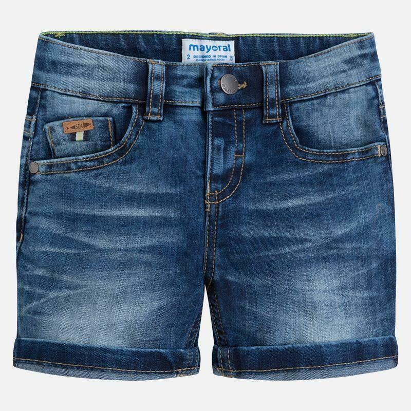 Dark Denim Shorts 3260B-4