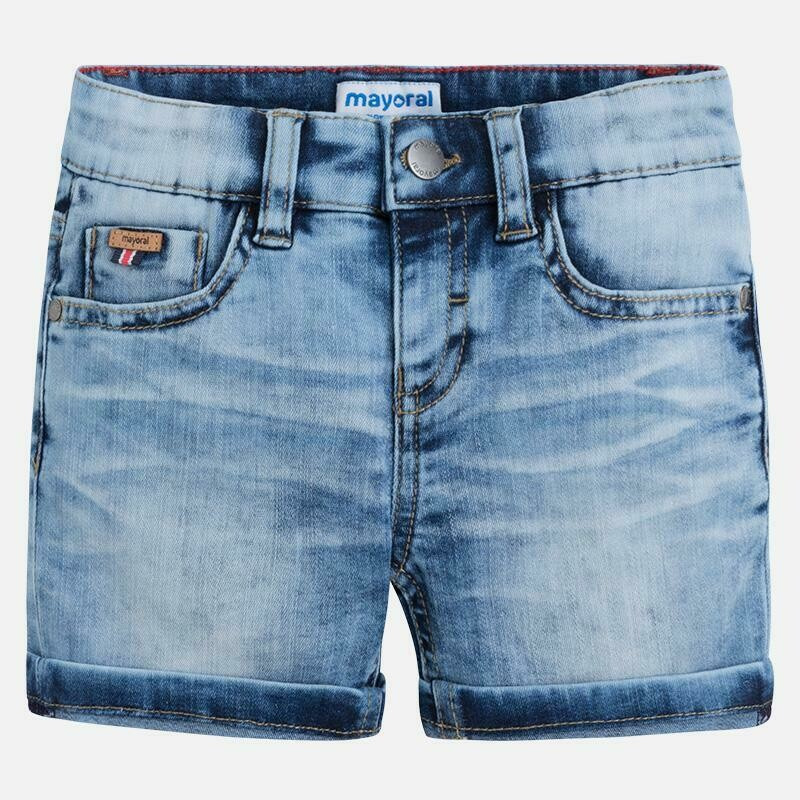 Light Denim Shorts 3260C-8