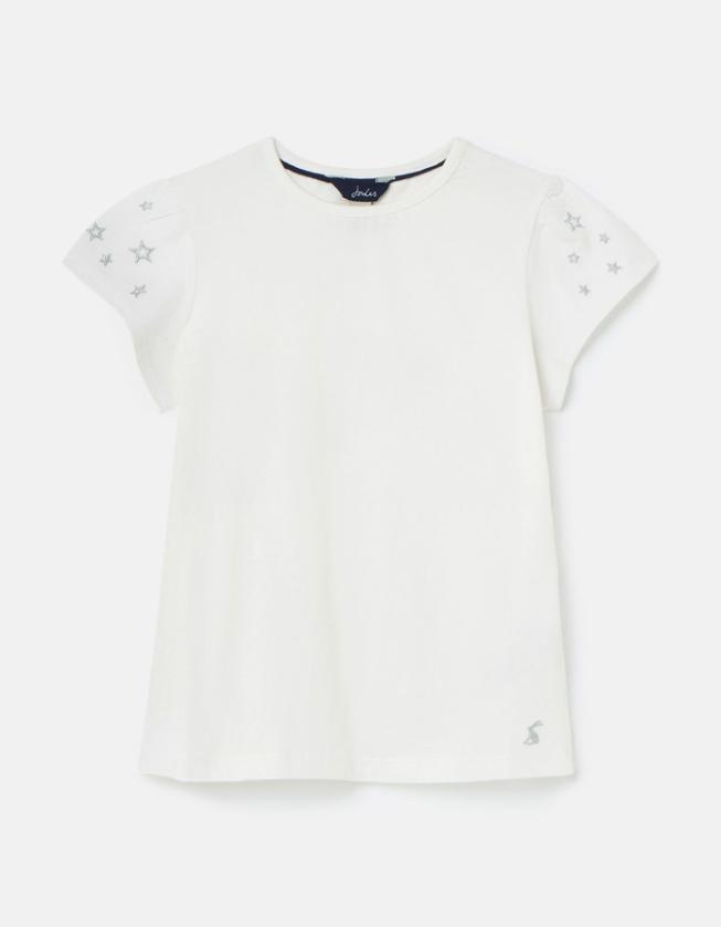Flutter White T-Shirt
