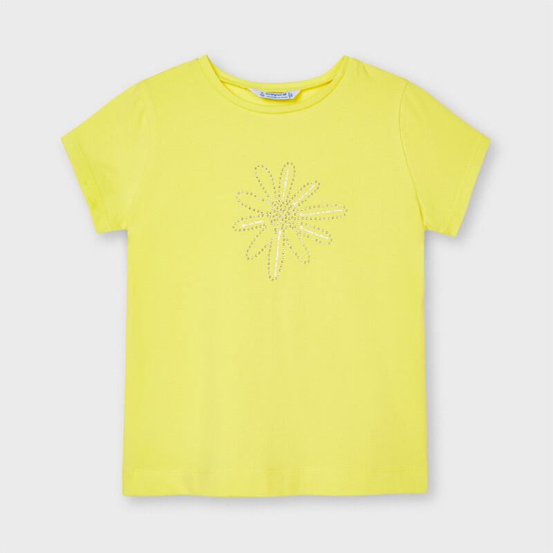 Yellow Basic T-Shirt 174