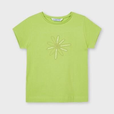 Pistachio Basic T-Shirt 174
