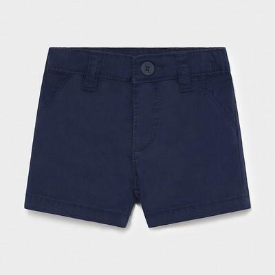 Navy Twill Shorts 201
