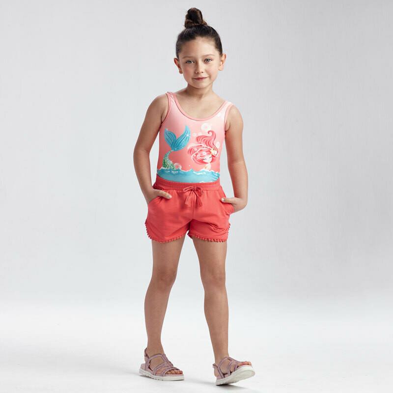 Coral Knit Shorts 607