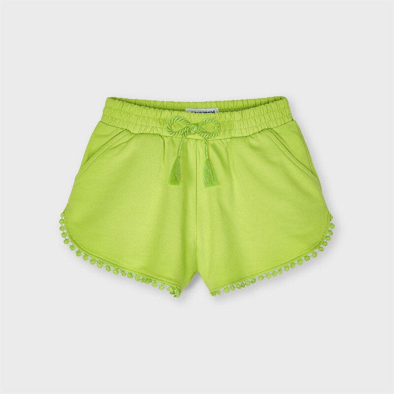 Pistachio Knit Shorts 607