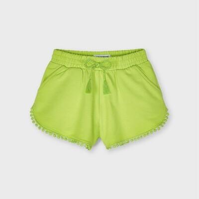 Pistachio Knit Shorts 607