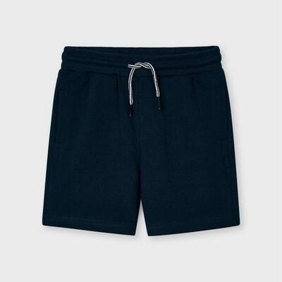 Navy Sporty Shorts 611