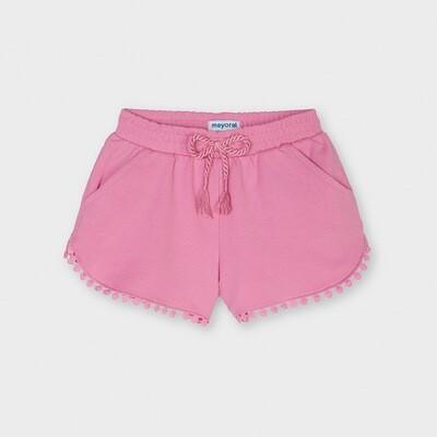Pink Knit Shorts 607