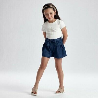 Denim Loose Shorts 3206
