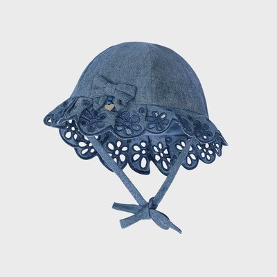 Denim Blue Sunhat 9373