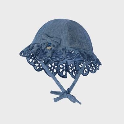 Denim Blue Sunhat 9373