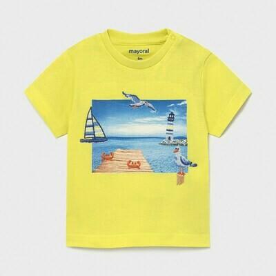 Embroidered Sea Shirt 1009