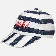 Yeah! Striped Cap 10126