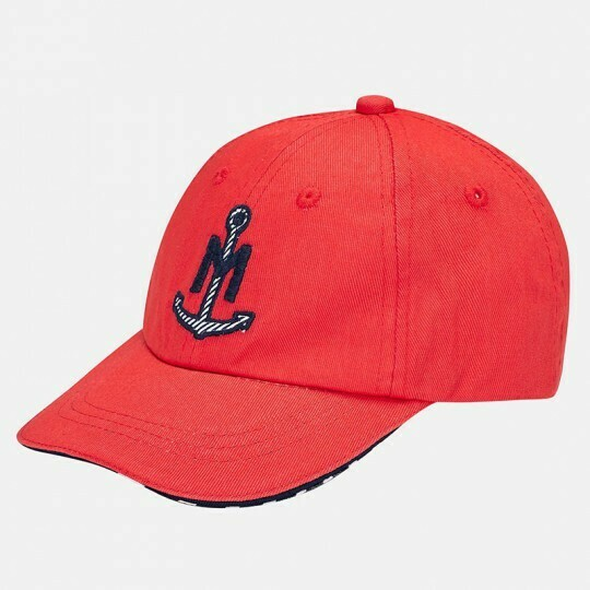 Red Anchor Cap 10338