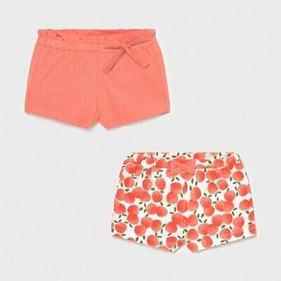 Peachy Shorts Set 1206