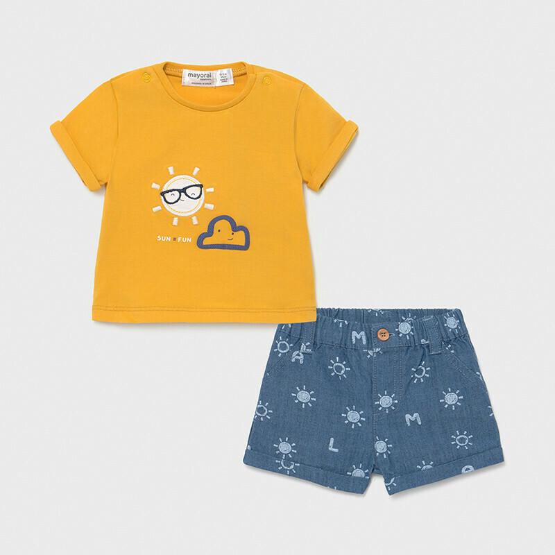 Shorts & T-Shirt Set 1205