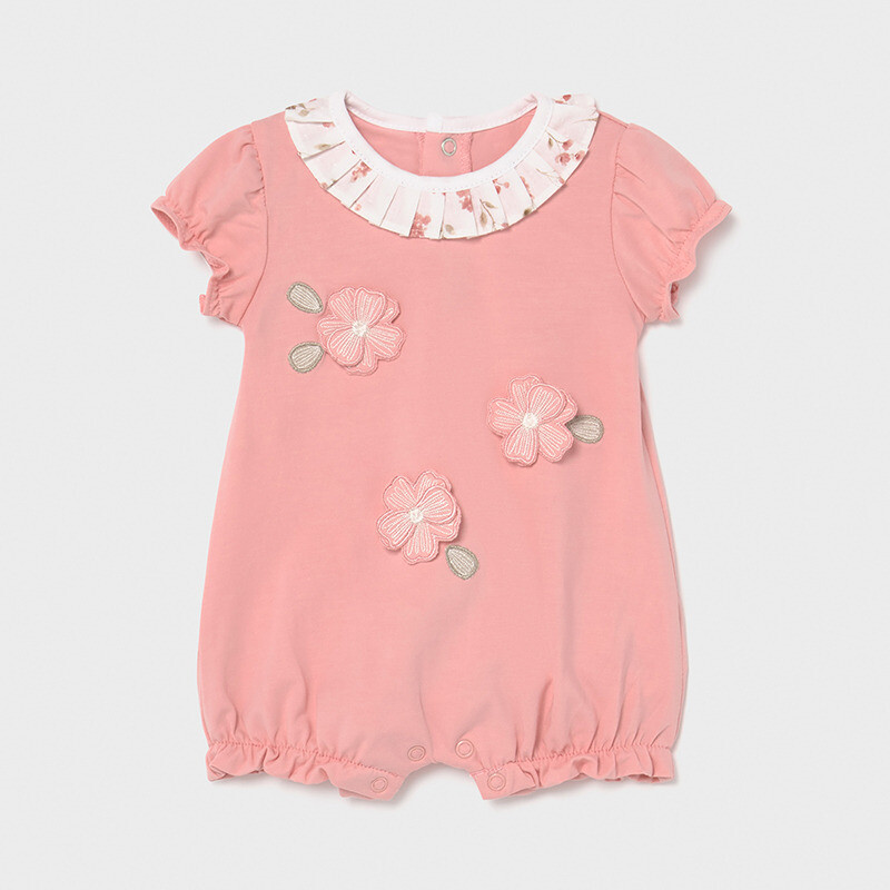 Floral Applique Onesie 1610