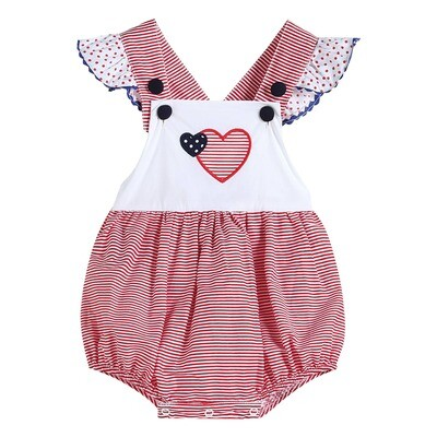 Red Gingham Heart Bubble