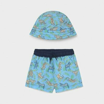 Blue Swimwear Set 1666