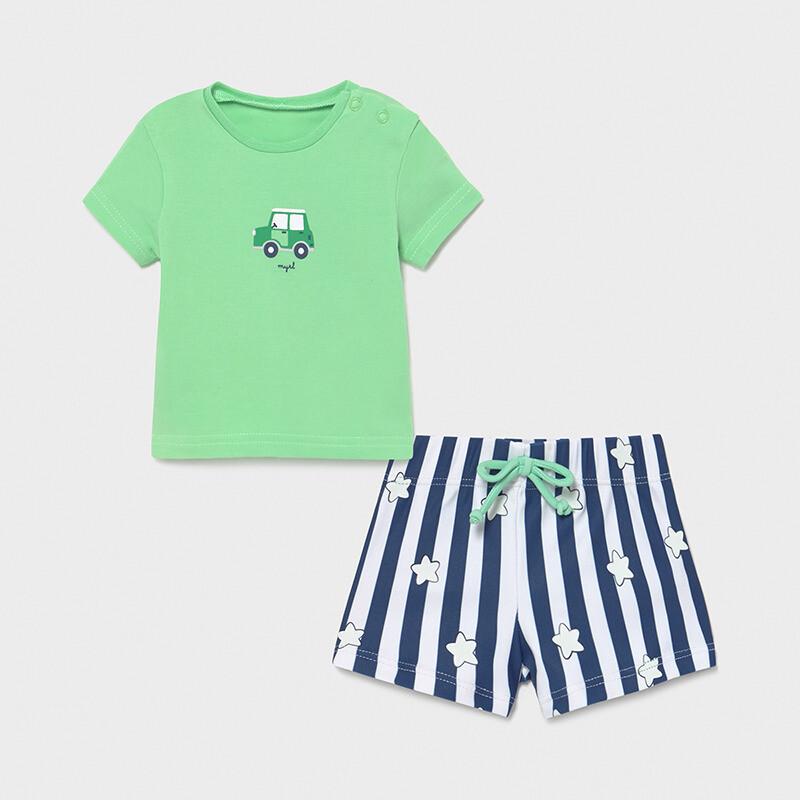 Striped Swimwear Set 1652