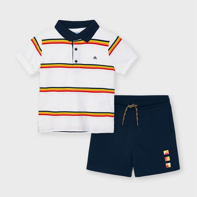 Polo Shorts Set 3640