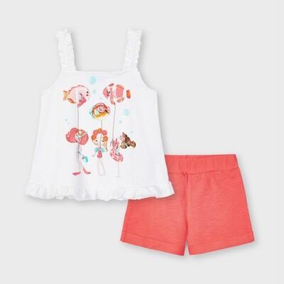 Fishy Shorts Set 3219