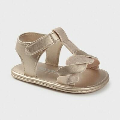 Gold Sandals 9406