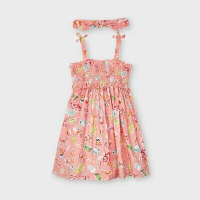 Mermaid Smocked Dress Set 3954