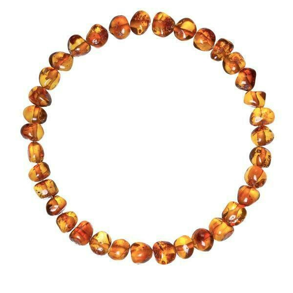 Adult Cognac Amber Bracelet
