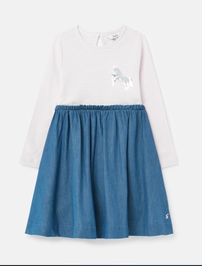 Hampton Lilac Unicorn Dress