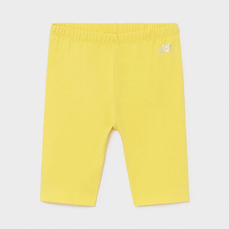 Yellow Capri Leggings 706