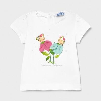 Girl Flowers Shirt 1079