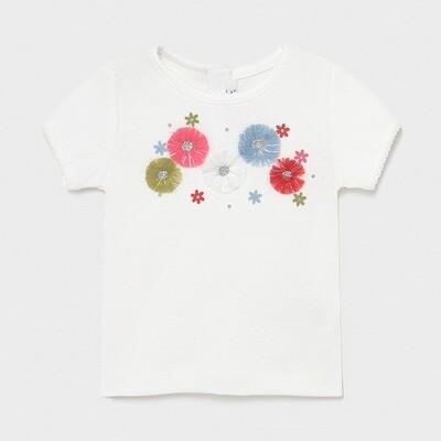 Ribbed Knit T-Shirt 1084